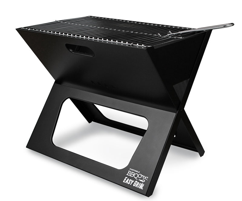 This innovative portable charcoal BBQ is the most compact on the market.